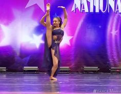 """Nia's solo """"Never Knew"""" from Dance Moms, season 5. She improved a lot, so proud !"""