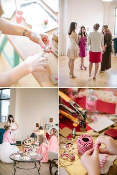 Girls just wanna have fun.And, you know, if that fun is accompanied by glitter, gold, pink, sweets, champagne, makeup... I, for one, wouldn't oblige to join in!It was a tremendous honor to spend the afternoon crafting for Valentines Day and being unapologetically girlie with so many lovely ladies.Be…