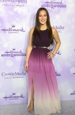 CRYSTAL LOWE at Hallmark Channel Party at  Winter TCA Tour in Pasadena
