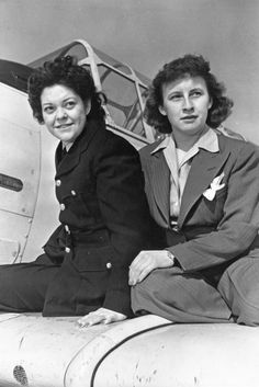 Violet Milstead of Toronto was a ferry pilot, one of the few Canadian women who served with the Air Transport Auxiliary in Britain during World War Two. Pat Patterson, Hawker Tempest, Bush Pilot, Order Of Canada, 1940s Woman, Flying Lessons, Private Pilot, Wool Shop, Aviators Women
