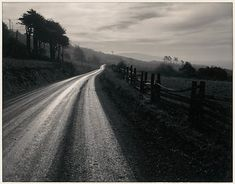 Ansel Adams, Road after Rain, Northern California, 1960