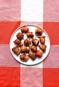 baked bacon wrapped chicken   jalapeno bites