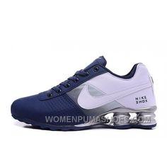 71f7a7ca09 NIKE SHOX DELIVER 809 NAVY BLUE WHITE Super Deals BbBhK