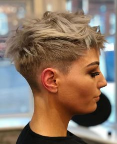 10 Stylish Pixie Haircuts in Ultra-Modern Shapes Women Hair.- 10 Stylish Pixie Haircuts in Ultra-Modern Shapes Women Hairstyles 2020 Stylish Pixie Haircut for Women Short Hairstyle and Color Ideas - Pixie Haircut For Thick Hair, Short Hairstyles For Thick Hair, Short Pixie Haircuts, Pixie Hairstyles, Hairstyles With Bangs, Curly Hair Styles, Cool Hairstyles, Hairstyle Short, Haircut Short