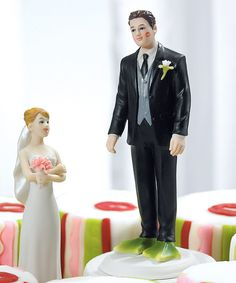 """""""Almost Perfect . . . Frog Prince"""" Groom Figurine"""
