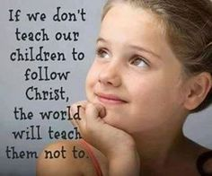 """""""And all thy children shall be taught of the Lord and Great shall be the peace of thy children"""" Isa.54:13"""