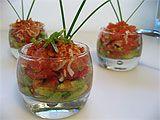 Avocat au crabe en verrine - 10