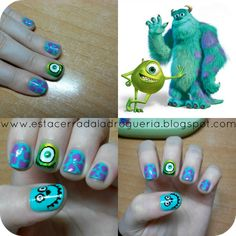 Monster's Inc. Nails