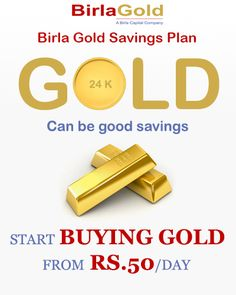 Start Buying Gold from Rs. 50/Day