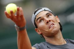 PHOTOS/VIDEO: Rafael Nadal practicing in the rain at Roland Garros   Rafael Nadal Fans