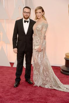 Pin for Later: Celebrity Couples Make the Oscars a Red-Hot Affair Dana Brunetti and Katie Cassidy