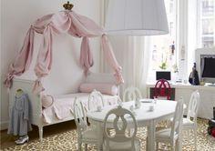 Кровать принцессы для девочки