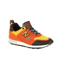 New Balance Pumpkin with Chromatic Yellow Trailbuster Re-Engineered Men's