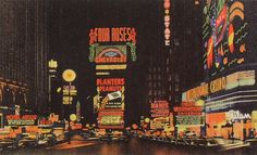 Times Square 1940s