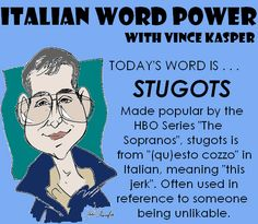 Stugots! I can remember my Daddy using this word along with hand movements!