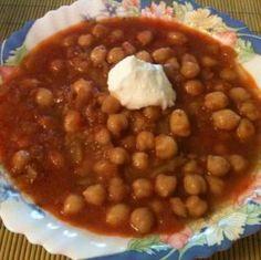 csicseriborsó receptek, cikkek   Mindmegette.hu Chana Masala, Vegetarian Recipes, Beans, Paleo, Vegetables, Ethnic Recipes, Food, Diet, Essen