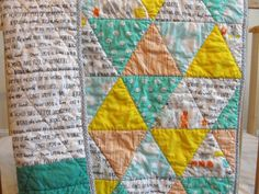 Henry's quilt back and detail | Flickr - Photo Sharing!