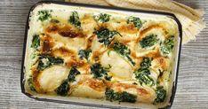 Spenótos-krumplis gratin fokhagymás, tejszínes szósszal és sok sajttal - Recept | Femina