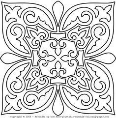 Mandalas lindas e harmônicas para colorir | Desenhos e Riscos …