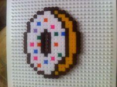 Donut pyssla perler