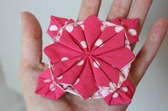 The 46 best japanese fabric folding orinuno and origami images on fabric flower origami mightylinksfo