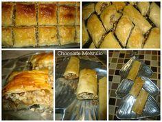 Chocolate Molinillo: Dulces árabes (Baklava, Dedos de Novia o de Reina)...