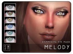 Screaming Mustard's [ Melody ] - Shimmering Eye Mask