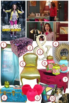 Kimmy Schmidt's Apartment  •  <p>Ashly recreates the quirky New York basement apartment of Kimmy from The Unbreakable Kimmy Schmidt.</p>