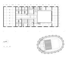 Image 17 of 22 from gallery of Circus Arts Conservatory / ADH Architects. Floor Plan