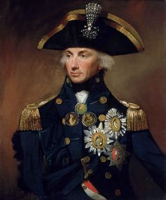 Best known for his victory in the Battle of Trafalgar (1805), where he also lost his life, Horatio Nelson, 1st Viscount Nelson is England's perhaps most famous admiral. A superb strategist, but also tactician, Nelson fought many battles and won several decisive victories. Always in the line of fire alongside his men, Nelson lost an arm and one eye and was wounded numerous times. His legacy remains very much alive and influential.