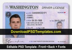 new washington drivers license 2017