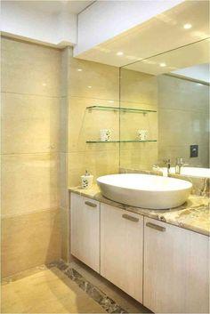 Skylight bathroom design by living edge architects for Bathroom designs mumbai