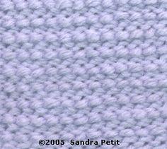 Tunisian crochet - afgan stitch