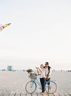 Santa Monica beach maternity session by Jen Huang Photography   100 Layer Cakelet