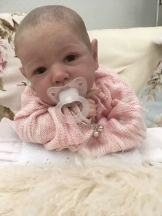 Reborn Baby Saskia By Bonnie Brown | eBay