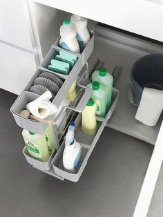 50 smart DIY storage solutions for your small kitchen 50 Smart DIY Kitchen Storage Solutions for Your Small Kitchen diy dollarstores kitchen storage repurposed best ideas for kitchen cabinets for a modern, classic look Small Kitchen Organization, Kitchen Storage Solutions, Kitchen Cabinet Storage, Kitchen Shelves, Cabinet Space, Organization Ideas, Storage Ideas, Kitchen Layout, Storage Units
