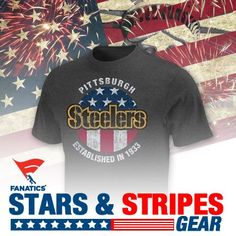 bbbcdb591 Get your stars & stripes gear here! #USA Steelers T Shirts, Pittsburgh