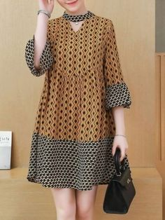 Women's Dresses, Stylish Dresses, Nice Dresses, Casual Dresses, Hijab Casual, Trendy Outfits, African Fashion Dresses, African Dress, Dress Fashion