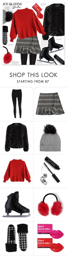 """""""Let's go iceskating"""" by mycherryblossom ❤ liked on Polyvore featuring Woolrich, Bobbi Brown Cosmetics, Steve Madden, Avon and iceskatingoutfit"""