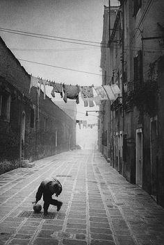 Anders Petersen - Venice, 1991.