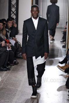 D Gnak RTW Autumn/Winter 2014 from Milan Fashion Week [that blazer+shirt]