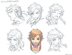 Link Expressions : WiiU Hunter By Tsuuuyu