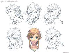 Link Expressions : WiiU Hunter By Tsuuuyu