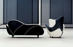 los muebles amorosos by Javier Mariscal for Moroso