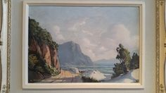 Paintings - Leslie Albertyn. Original Oil in Original Frame. Titled Naby Gordonsbaai/ Near Gordon's Bay. for sale in Cape Town (ID:254264846)