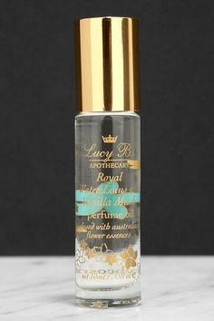 Roll-on perfumes are totally trending, but the best scents come from Lucy B! The Lucy B Royal Water Lotus