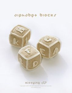 Alphabet Blocks (S to Z) Crochet Pattern, Symbol Diagram (pdf)