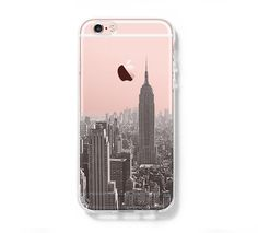 New York Cityscape iPhone 6S case iPhone 6 Clear Case iPhone 5s 5 Case iPhone 5C Cover Hard Transparent iPhone Case C0001