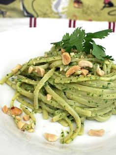 Vegan Linguine with Thai Pesto – Robin Robertson