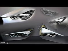 Maserati Kubang Concept: design sketches (and videos) - Image Gallery Car Design Sketch, Car Sketch, Maserati, Industrial Design Sketch, Car Headlights, Automotive Design, Auto Design, Vintage Lamps, Transportation Design